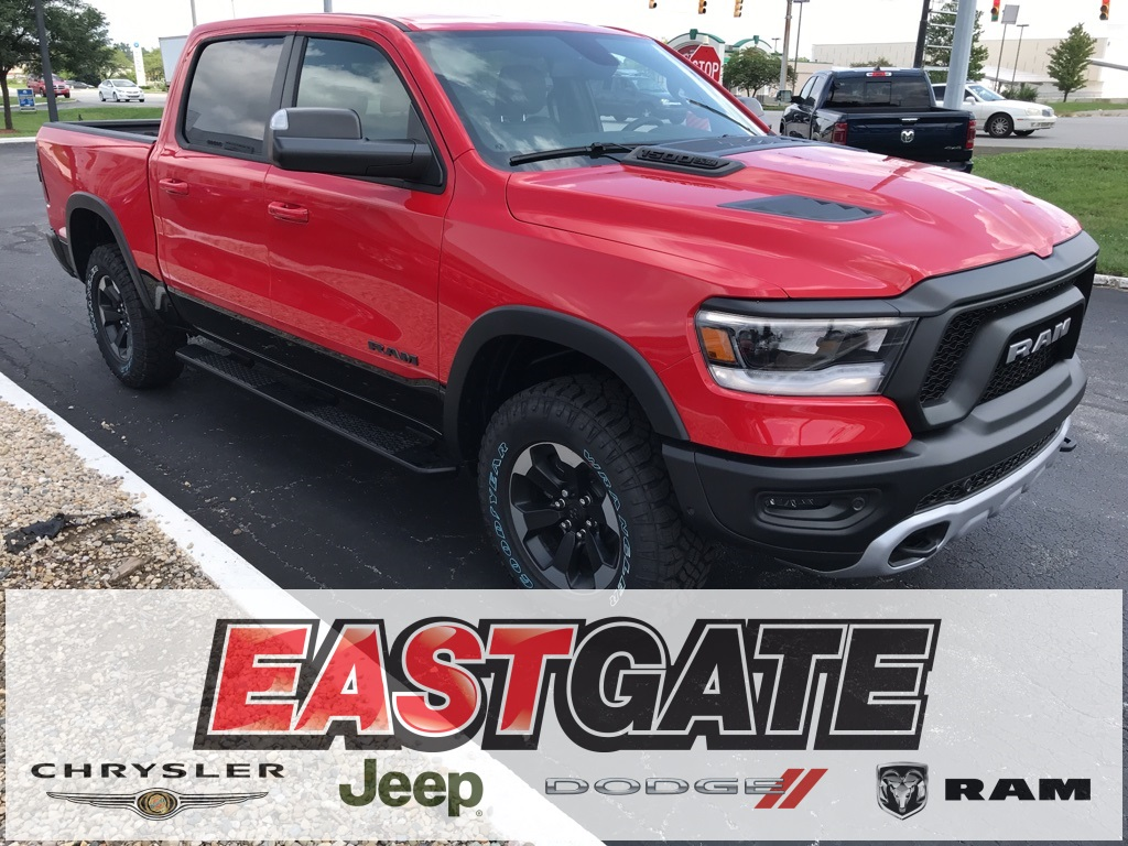 Ram 1500 Rebel >> New 2019 Ram All New 1500 Rebel Crew Cab In Indianapolis E1929048